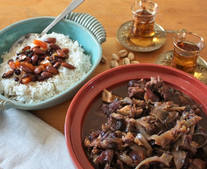 Food as decadent as Oman itself!